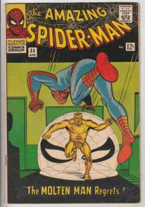 Amazing Spider-Man #35 (Apr-66) VF High-Grade Spider-Man