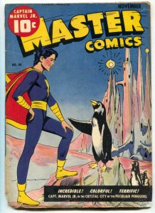 Master Comics #44 1943- Raboy penguin cover- restored reading copy