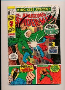 Marvel Comics 1970 SPIDER-MAN battles Vulture #7 VERY GOOD/FINE (HX726)