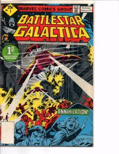 1979 Marvel Comics Battlestar Galactica #1 Whitman Edition VF+