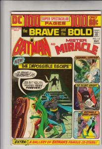 Brave and the Bold, The #112 (May-74) VF/NM High-Grade Batman
