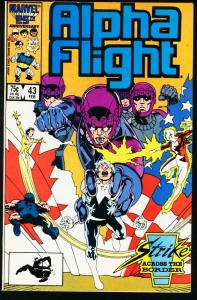 ALPHA FLIGHT #43-MARVEL COMICS-MUTANTS! NM