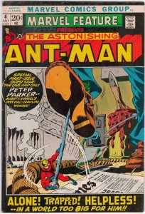 Marvel Feature presents Ant-Man, The Astonishing #4 (Jul-72) FN+ Mid-High-Gra...
