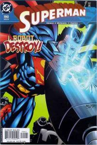 Superman (1987 series) #190, NM (Stock photo)