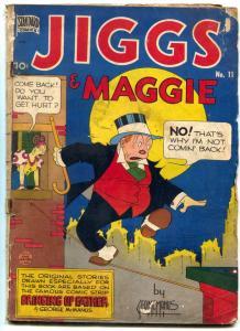 Jiggs and Maggie #11 1949- Golden Age Comic- McManus F/G