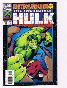 The Incredible Hulk # 416 Marvel Comic Books Awesome Issue Modern Age WOW!!! S29