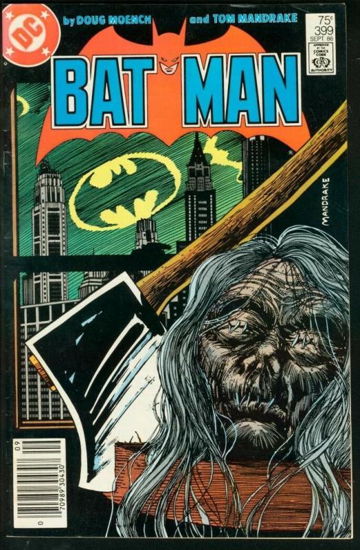 BATMAN #399-1986-DC VF