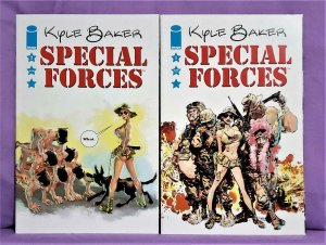 Kyle Baker SPECIAL FORCES #1 - 2 (Image, 2007)!