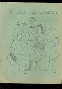 ALL-STAR BEGOTTEN FANZINE #61-FLASH-STARMAN-WONDER WOMA FN