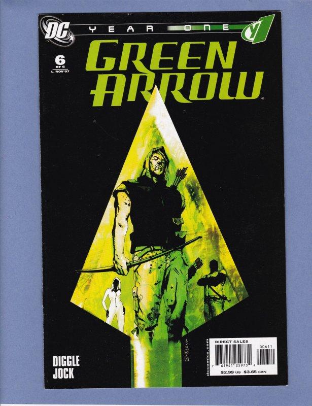Green Arrow Year One #6 FN Jock Cover/Art