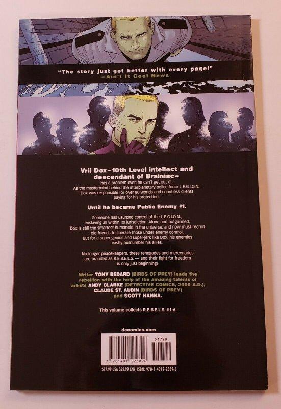 R.E.B.E.L.S. THE COMING OF STARRO TPB SOFT COVER DC COMICS FIRST PRINT NM