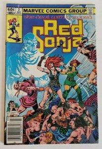Red Sonja #2 Vol 2 FN/VF 7.0 Marvel Comics 1983