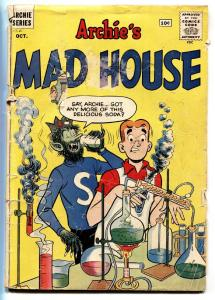 ARCHIE'S MAD HOUSE #15 comic book 1961-JUGHEAD HORROR COVER-bargain