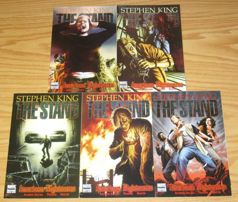 Stephen King's the Stand: American Nightmares #1-5 VF/NM complete series 2 3 4