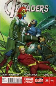 All-New Invaders #2, NM- (Stock photo)