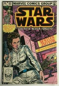 STAR WARS#65 FN/VF 1982 MARVEL BRONZE AGE COMICS