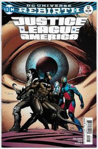 Justice League of America #12 Rebirth Variant Cvr (DC, 2017) NM