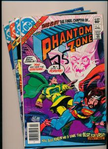 DC Complete Mini-Series THE PHANTOM ZONE #1-4 FINE/VERY FINE (PF86)