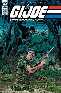 Gi Joe A Real American Hero #261 Cvr B (IDW, 2019) NM