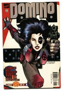 Domino #1 1996 First issue comic boom Marvel