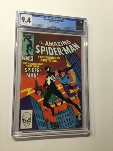 Amazing Spider-man 252 Cgc 9.4 White Pages 1st Black Costume Marvel