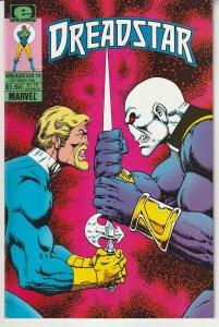 Dreadstar(Epic)#  14 Thanos creator Jim Starlin's Space Opera