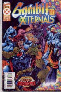 Gambit and the X-Ternals #3, VF+ (Stock photo)