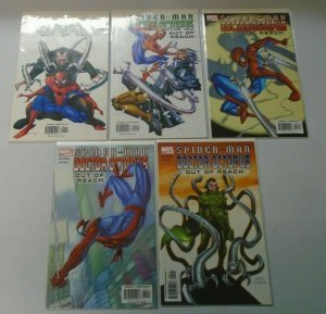 Spider-Man Doctor Octopus 2 sets 10 different issues 8.0 VF (2003+04)