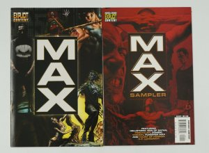 Marvel MAX Sampler #1-2 VF/NM complete series - punisher/hellstorm/foolkiller