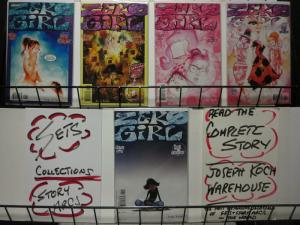 ZERO GIRL FULL CIRCLE 1-5  complete sequel series