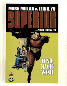 SUPERIOR Complete Marvel Icon Comic Books # 1 2 3 4 5 6 7 Mark Millar Yu RP4
