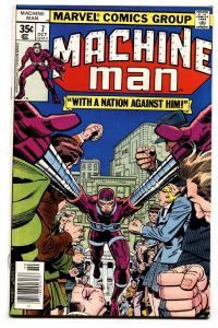 Machine Man #7 -First appearance of The Power Broker 1978 VF