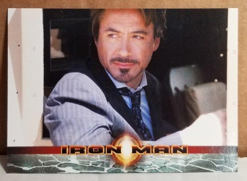 2008 Iron Man Movie Trading Card #2