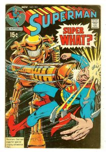 Superman 231   Neal Adams cover