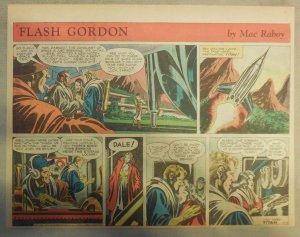 Flash Gordon Sunday Page by Mac Raboy from 6/14/1953 Half Page Size