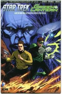 STAR TREK GREEN LANTERN #1 S, NM, Spock, Kirk, War, 2015, IDW, more in store