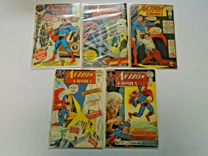 Giant-Size Action Comics 5 Different Average 4.0 VG (1971+72)