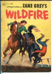 Zane Grey's Wildfire Four Color Comics #433 1953-Dell-booklength western-VG