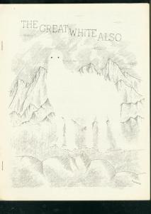 GREAT WHITE ALSO-1968-SCI FI FANZINE-HANK STEIN-FRED PA VF