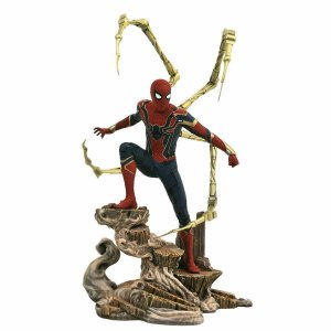 Diamond Select Marvel Gallery Avengers Iron Spider-Man Statue Unopened NIB
