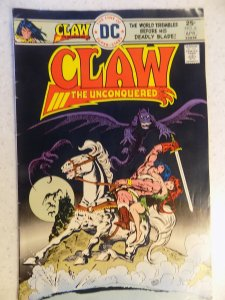 CLAW THE UNCONQUERED # 3 DC BRONZE FANTASY SWORD BARBARIAN