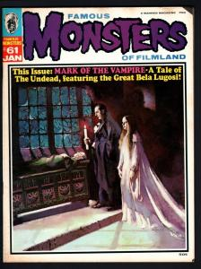 FAMOUS MONSTERS OF FILMLAND #61-MARK OF THE VAMPIRE ISSUE-1970-4E ACKERMAN G/VG