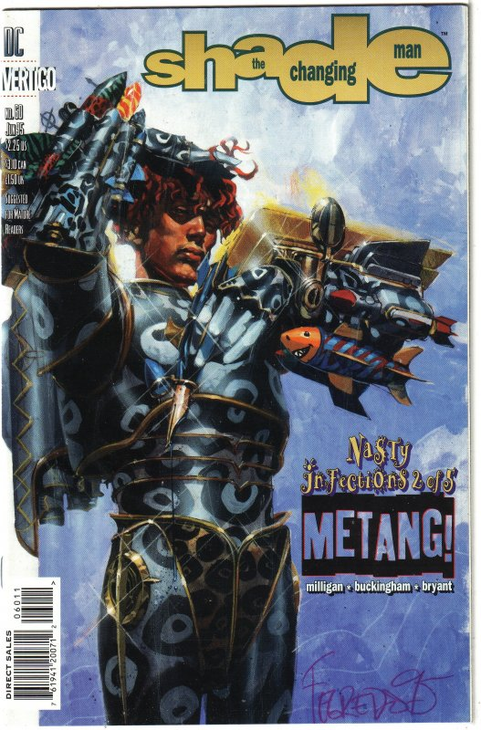 Shade the Changing Man   vol. 2   #60 FN