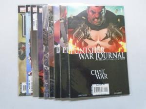Punisher War Journal (2006-2009 2nd Series) #1-9 Run - 8.0 VF - 2006