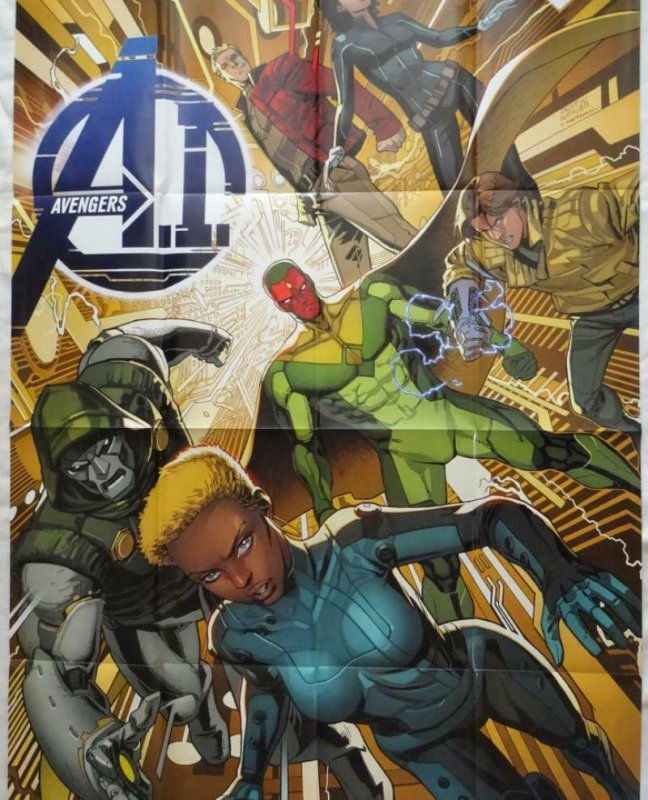 AVENGERS Promo Poster, 24 x 36, 2013, MARVEL, Unused more in our store 299