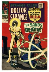 STRANGE TALES #158  comic book 1967 1st LIVING TRIBUNAL FN-
