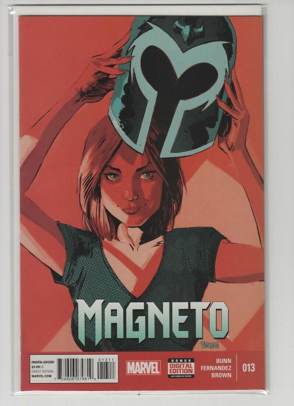 MAGNETO (2014 MARVEL) #13 NM- AF96HP
