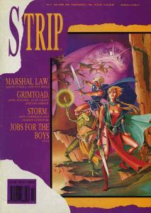 Strip #5 VG; Marvel UK   low grade comic - save on shipping - details inside