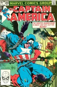 Captain America #280 stock photo ID#B-1