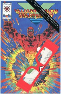 Valiant Vision Starter Kit #1 w/ Glasses Comic & Poster 1994 Original Sealed